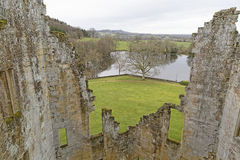 Free View From Castle Walls, Wiltshire, England Stock Image - 37026601