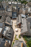 View From Clock Tower, Dinan, France Stock Images