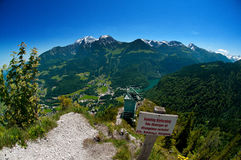 Free View From Gruenstein Over To Jenner And Hoher Goell Stock Images - 77370514