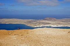 View From Mirador Del Rio In Lanzarote Stock Photography