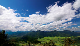 Free View From Mountains Top Royalty Free Stock Image - 22358526
