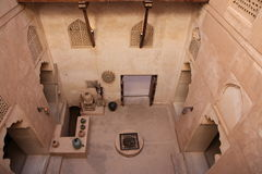 Free View From On Top Looking Down At Jabreen Castle Royalty Free Stock Images - 23174809