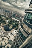 View From Petronas Towers, Kuala Lumpur Stock Images