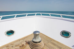 Free View From The Bow Of A Luxury Yacht Over Tropical Sea Stock Images - 72112824