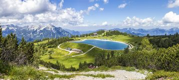 Free View From The Mountain Top Hoess In Hinterstoder At The Austrian Alps Royalty Free Stock Photos - 114220918