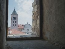 Free View From The Old Window In Zadar Stock Image - 158948431