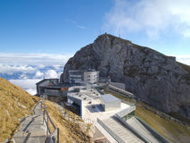 View From The Summit Of Pilatus. Stock Photo
