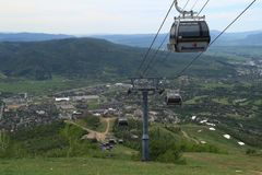 View From Thunderhead Trail, Steamboat Springs, Colorado Stock Photos