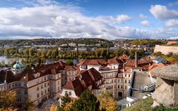 View From Vysehrad Royalty Free Stock Photos