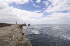 Free View From Whitby Harbour Sea Wall Stock Photos - 7977113
