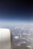 View fron an airplane Royalty Free Stock Images