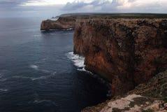 View fron Cape Saint Vincent, Portugal Stock Photo