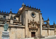 Cathedral, Jerez de la Frontera, Spain. Stock Photos