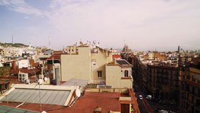 View front the rooftop of Casa Mila Royalty Free Stock Photos