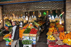 View of fruit stall Royalty Free Stock Image
