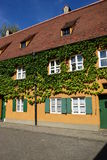 A view of the FUGGEREI in Augsburg, Germany Royalty Free Stock Image