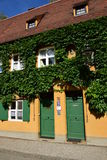 A view of the FUGGEREI in Augsburg, Germany Royalty Free Stock Images