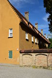 A view of the FUGGEREI in Augsburg, Germany Royalty Free Stock Photo