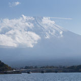 View of Fuji mountain Royalty Free Stock Photography