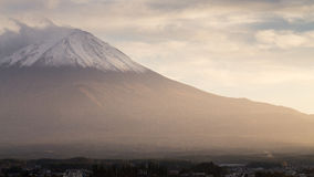View of Fuji mountain from Kawaguchiko Royalty Free Stock Images