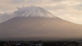 View of Fuji mountain from Kawaguchiko Stock Photography