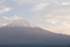 View of Fuji mountain from Kawaguchiko Stock Photo
