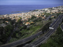 A view of Funchal Madeira Royalty Free Stock Image