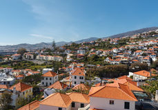 View of Funchal. Madeira island, Portugal stock photos