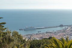 View of Funchal. Madeira island, Portugal royalty free stock photos