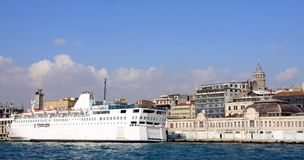 A view of Galata Stock Images