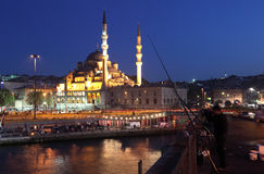View from Galata Bridge, Istanbul Royalty Free Stock Image
