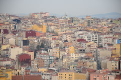 View from Galata tower Stock Photos