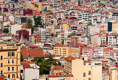 View from Galata Tower in Istanbul Stock Photo