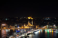 The view from Galata Tower, Istanbul. The view from Galata Tower, Istanbul Turkey Stock Photography