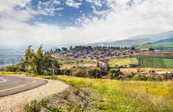 View from Galilee Mountains. Israel Royalty Free Stock Image