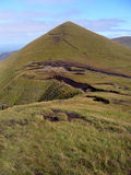 View of Galtee Beag, Galtee mountains, Ireland Royalty Free Stock Images