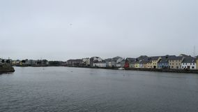 A view of Galway City bay. stock photo