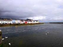 View of Galway from Claddagh Quay Royalty Free Stock Photo