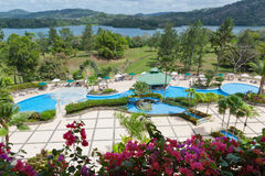 View from Gamboa Rainforest Resort. Stock Images
