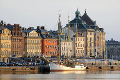 A view of the Gamla Stan Area Stock Images