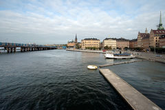 View of Gamla Stan, old center. Stock Image