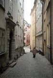 View of Gamla Stan, old center. Stock Photography