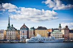 View of Gamla Stan, Old City Stokholm Royalty Free Stock Image