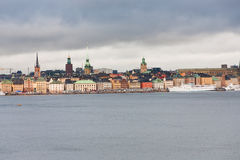 View on Gamla Stan, Stockholm Royalty Free Stock Photos