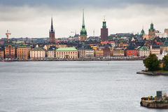 View on Gamla Stan, Stockholm Royalty Free Stock Photography