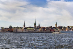 View of Gamla Stan, Stockholm Royalty Free Stock Photography
