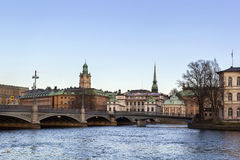 View of Gamla Stan, Stockholm Stock Photo