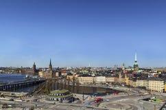 View of Gamla Stan, Stockholm Royalty Free Stock Image
