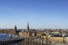 View of Gamla Stan, Stockholm Stock Image