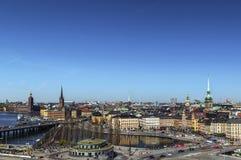 View of Gamla Stan, Stockholm Stock Photo